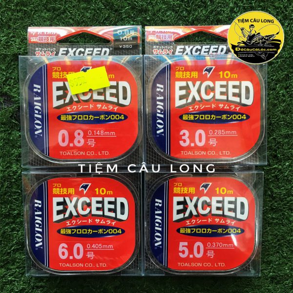 Dây Leader Exceed Fluorocarbon