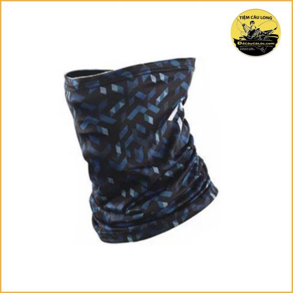 khăn che mặt daiwa màu đen xám