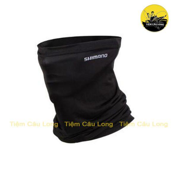 khăn trùm mặt shimano màu đen