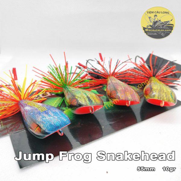 Mồi Nhái Nhảy câu cá lóc Jump Frog Snakehead