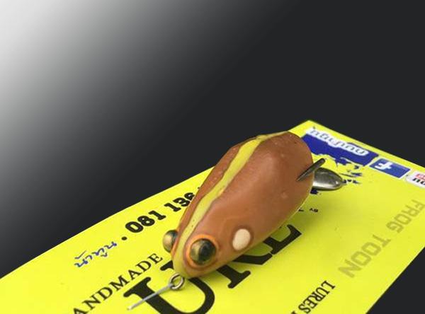 nhái hơi câu rê cá lóc Frog Toon V3
