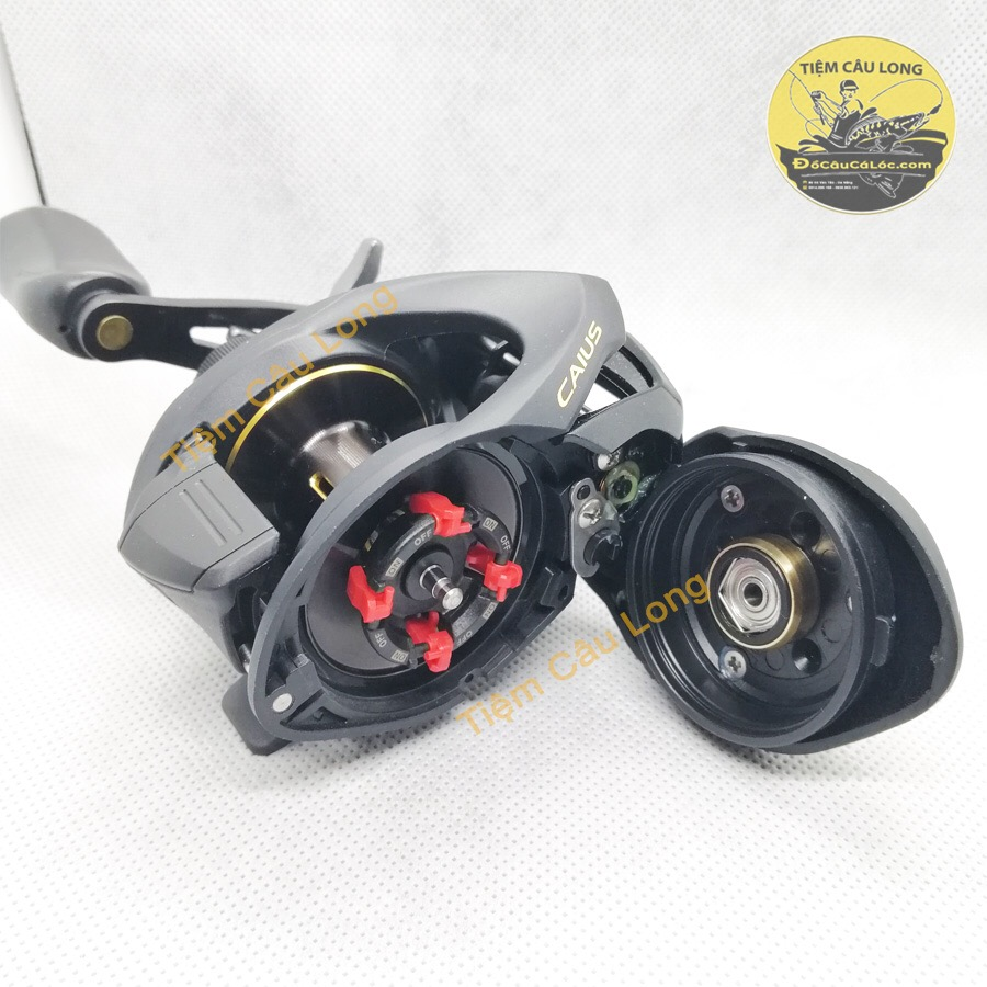 máy ngang câu cá lóc shimano caius 151 150