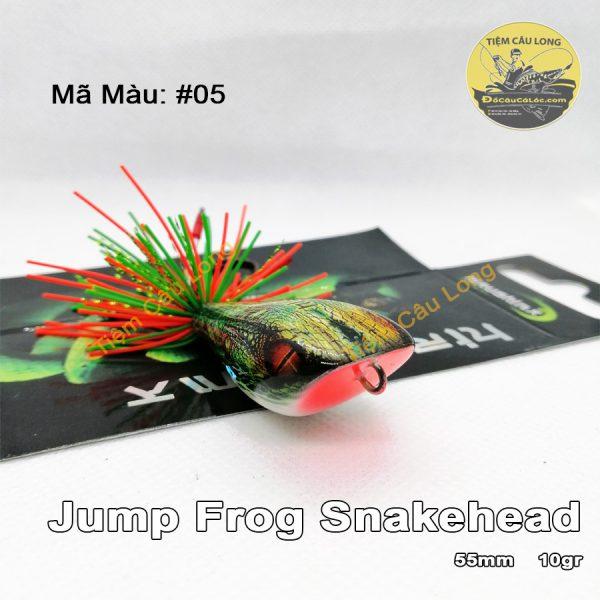 Mồi Nhái Nhảy đầu rắn Jump Frog Snakehead