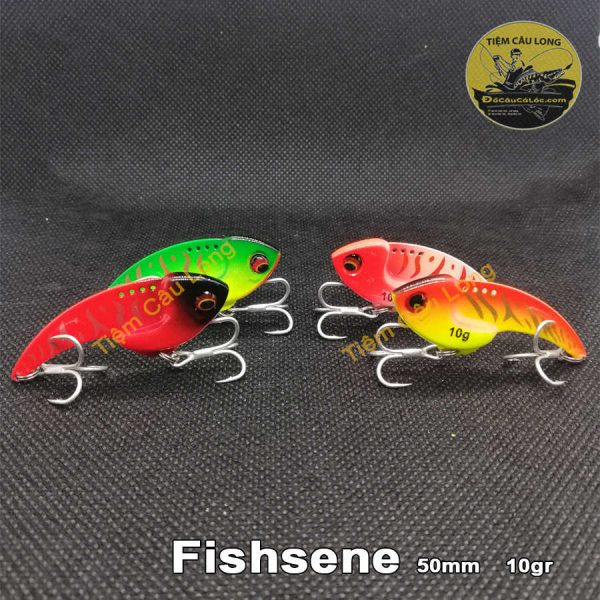 Mồi Cá Giả câu cá lóc Fishsense 10gr-14gr
