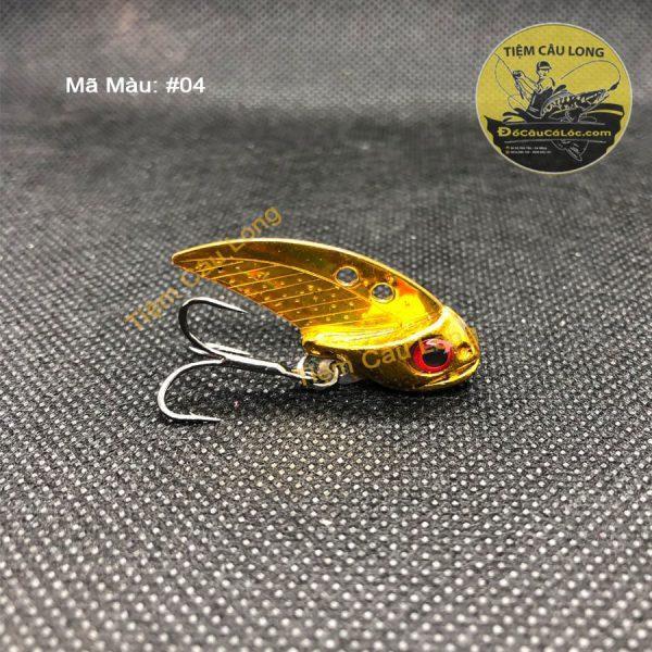 Mồi cá giả câu cá lóc FishSense Mini 11Gr Thái Lan