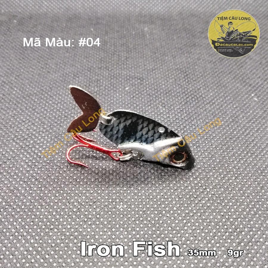 bán mồi câu cá lóc Iron Fish tại Đà nẵng & GH toàn quốc