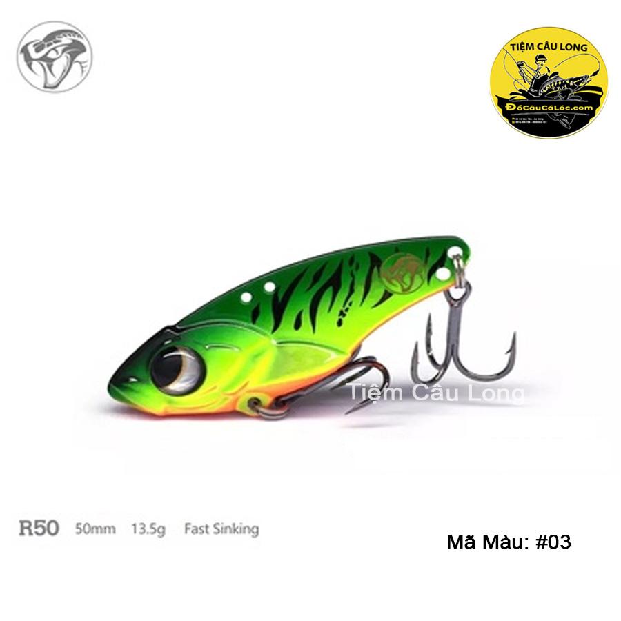 bán mồi cá giả R50 Lurefans