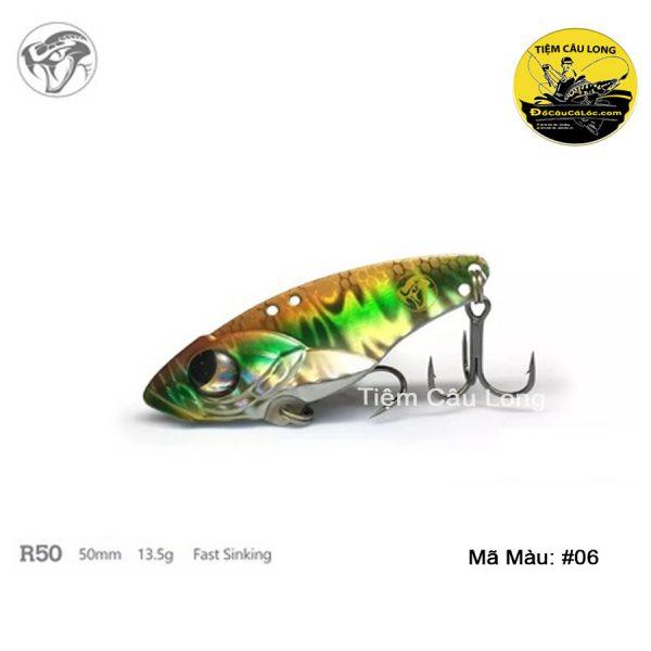 mồi câu cá lóc R50 lurefans