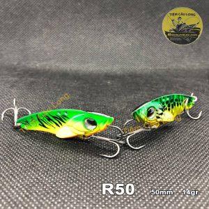 Mồi Cá Giả câu cá lóc R50 Lurefans