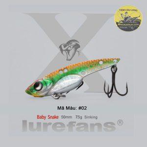 bán mồi cá giả câu cá lóc X50 LureFans