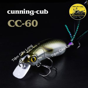 mồi cá giả CC60 câu lure cá lóc