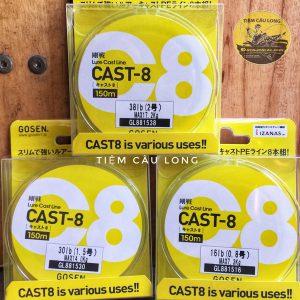 Dây Pe Gosen Cast-8 Hàng Japan