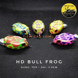 Mồi Nhái Hơi HD Bull Frog