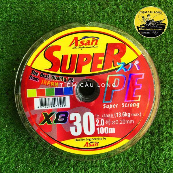 bán dây nhợ pe câu lure cá lóc Super Asari