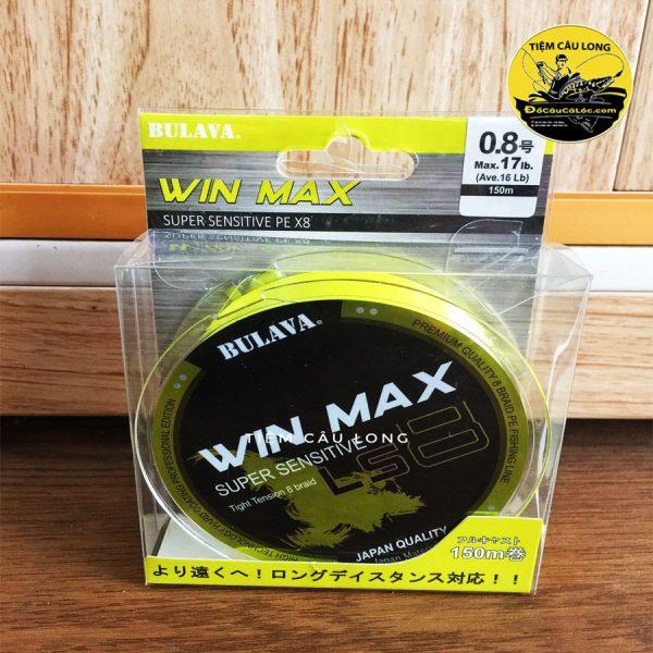 dây pe câu cá lóc Bulava WinMax