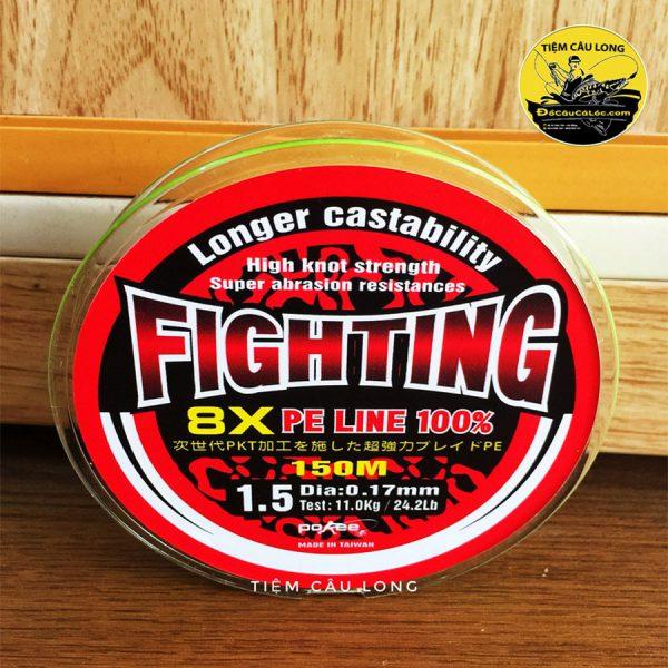 bán dây pe câu cá lóc X8 figting