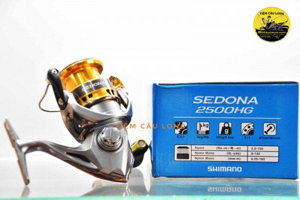 máy câu lure Shimano Sedona FI 2500