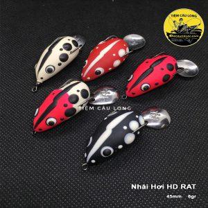 Mồi Nhái Hơi câu cá lóc HD RAT