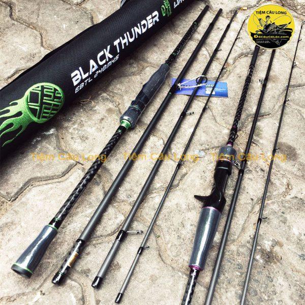 Cần câu lure 4 Khúc Ecooda Black Thunder