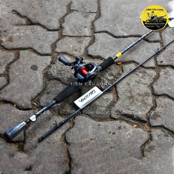 Combo cần ngang Daiwa Crossfire X Máy Daiwa Pr100L