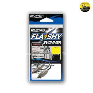 lưỡi mồi mềm câu cá lóc Owner Flashy Swimmer